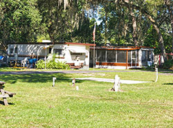 Zephyrhills FL RV Park Facilities Andys Travel Trailer