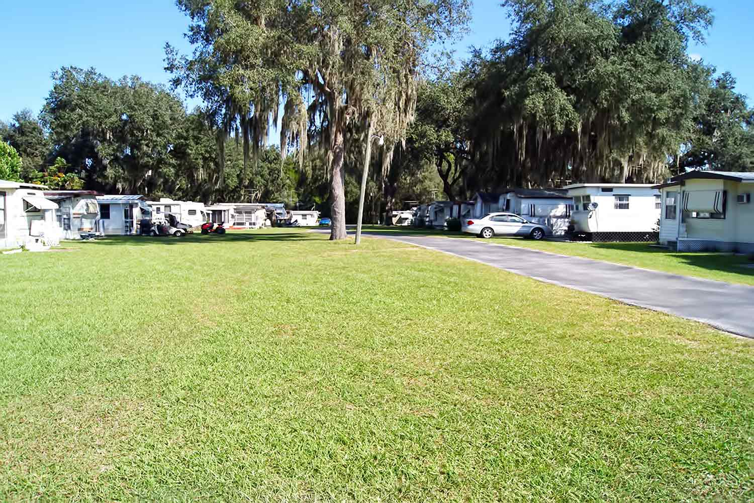 Welcome To Andys Travel Trailer RV Park In Zephyrhills FL